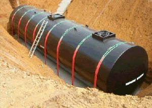 yeraltı tankı